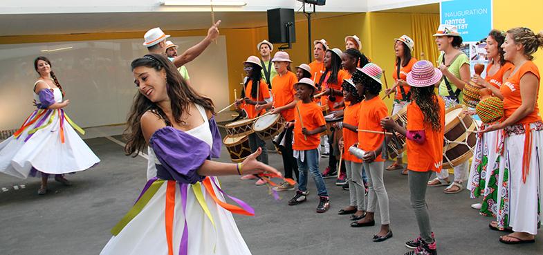 10 septembre 2015 - Les enfants de l'association Macaïba à l'honneur