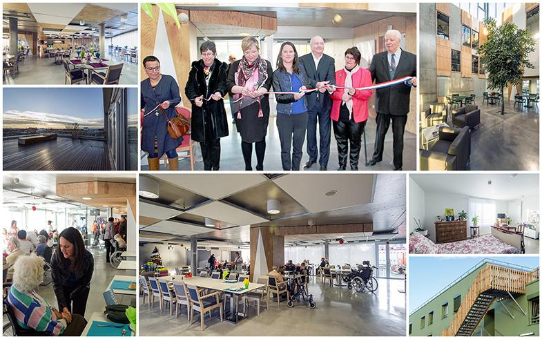 Inauguration Ehpad Fonteny - Janvier 2017