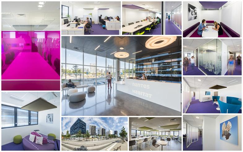 Le nouveau siège de Nantes Habitat en images