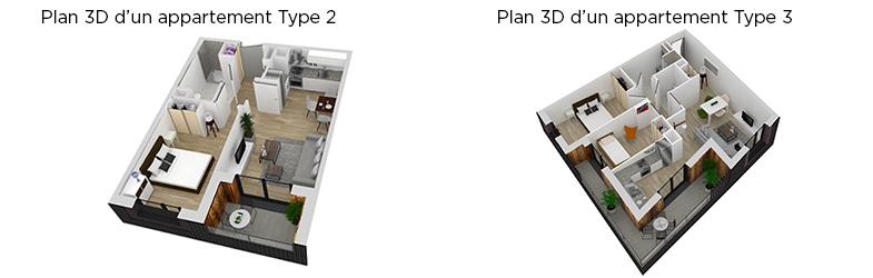 Plans 3D - Lippmann (t2 et t3)